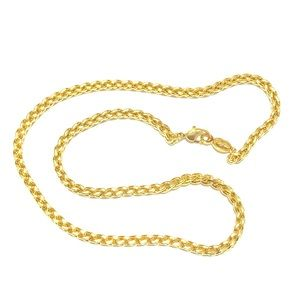 NAPIER Vintage Thick Gold Plated Chain
